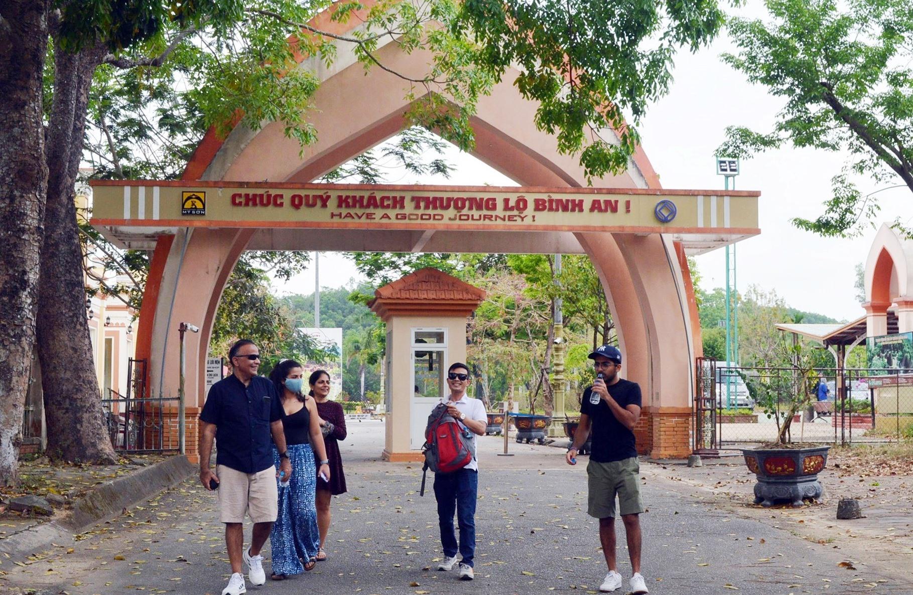 Quảng Nam dự kiến tháng 7 đón lại khách quốc tế
