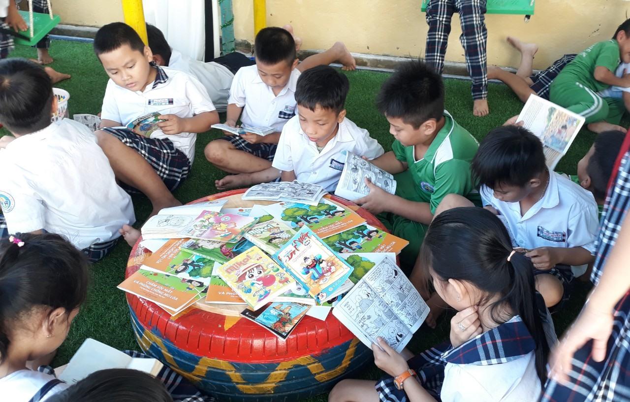 """Cuộc thi """"Cùng đọc sách"""" trên báo Quảng Nam điện tử nhằm góp phần phát triển văn hóa đọc. Ảnh: C.N"""