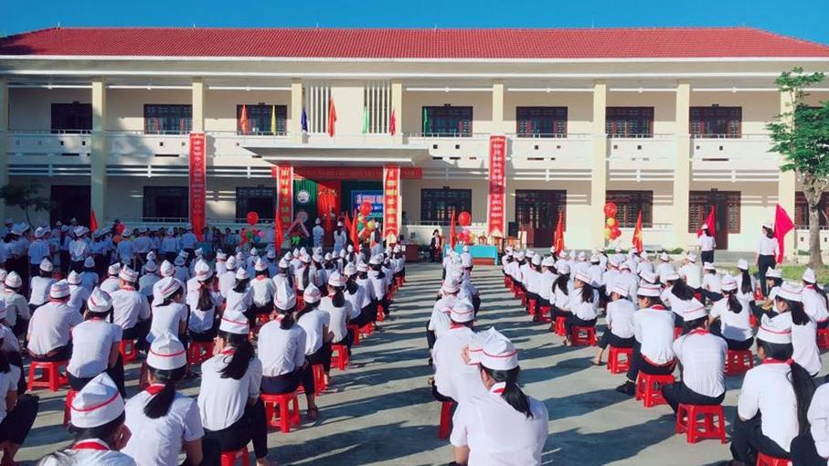 Trường THCS chất lượng cao Lê Quý Đôn phải dừng hoạt động kể từ năm học 2021-2022. Ảnh: X.P