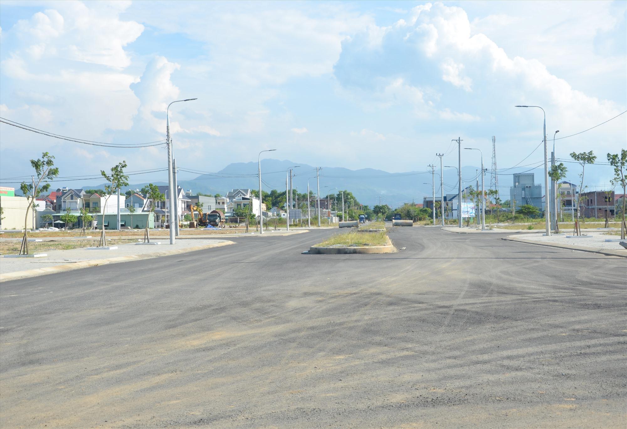 Núi Thành đề xuất điều chỉnh một số khu dân cư. Ảnh: H.P