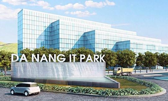 Phối cảnh Khu công nghệ thông tin tập trung Đà Nẵng được Thủ tướng chính phủ phê duyệt ngày 6/1/2020. Ảnh: trian.vn