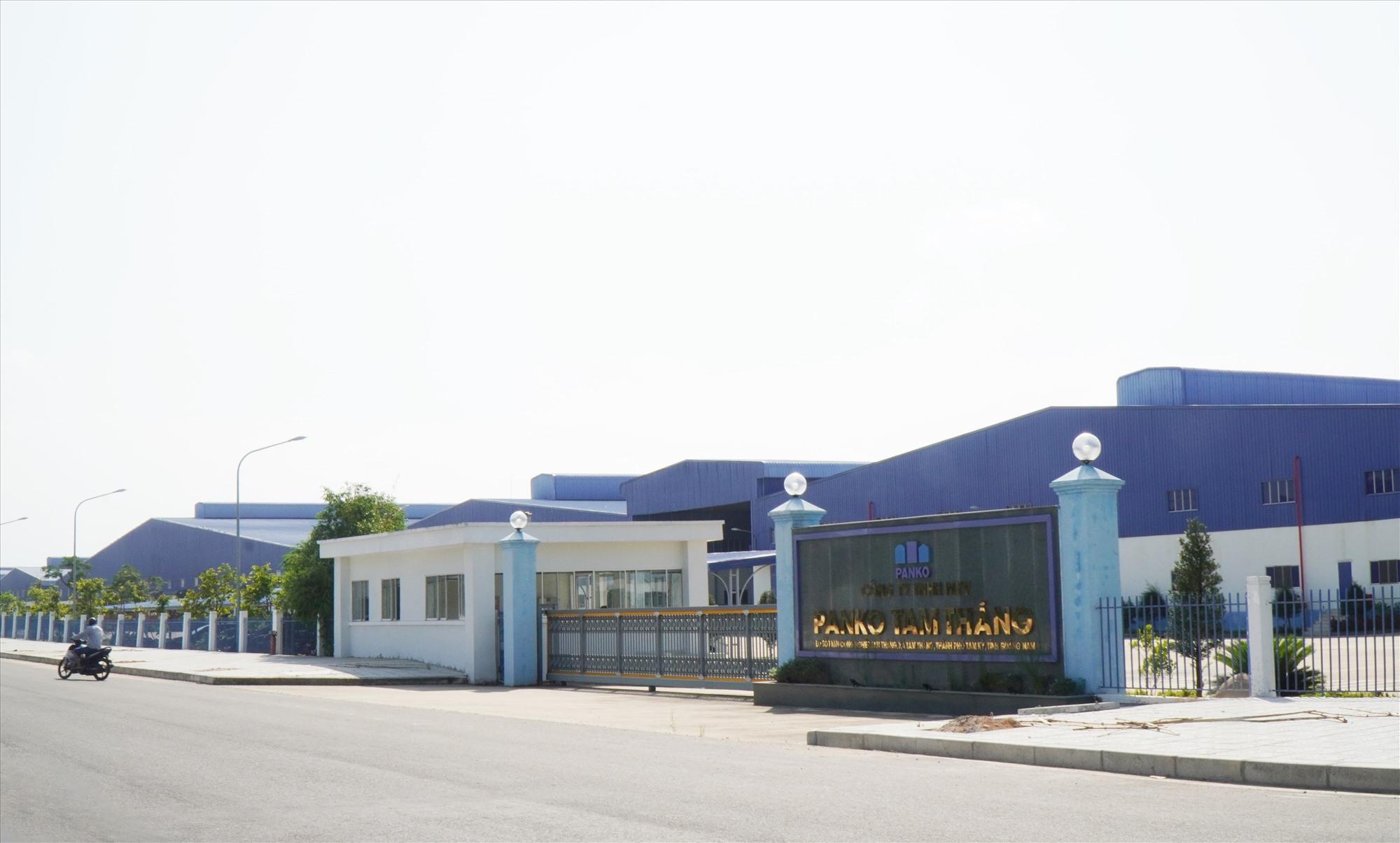 Trụ sở Công ty Panko Tam Thăng khang trang, đảm bảo môi trường trong sạch. Ảnh: N.T.B