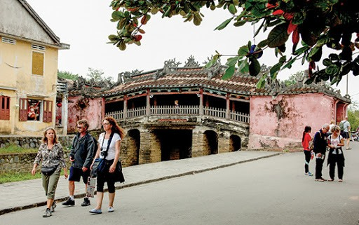Foreign visitors to Hoi An