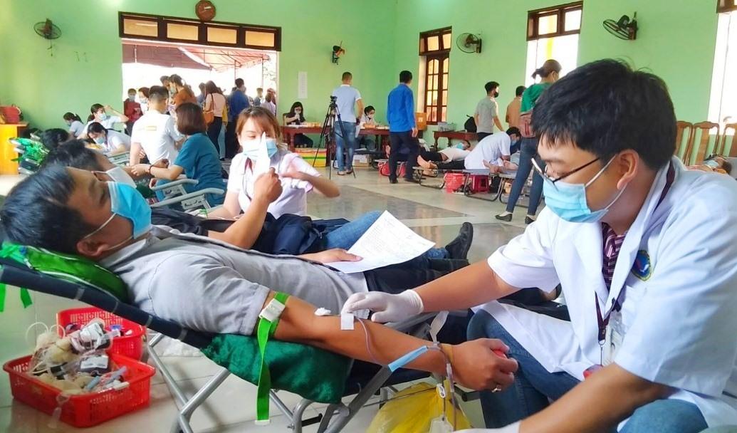 Ngày hội hiến máu tại Điện Bàn.