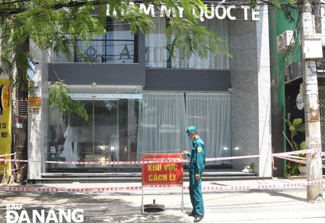 Thẩm mỹ viện quốc tế Amida cơ sở tại đường Phan Châu Trinh (quận Hải Châu). Ảnh: Báo Đà Nẵng