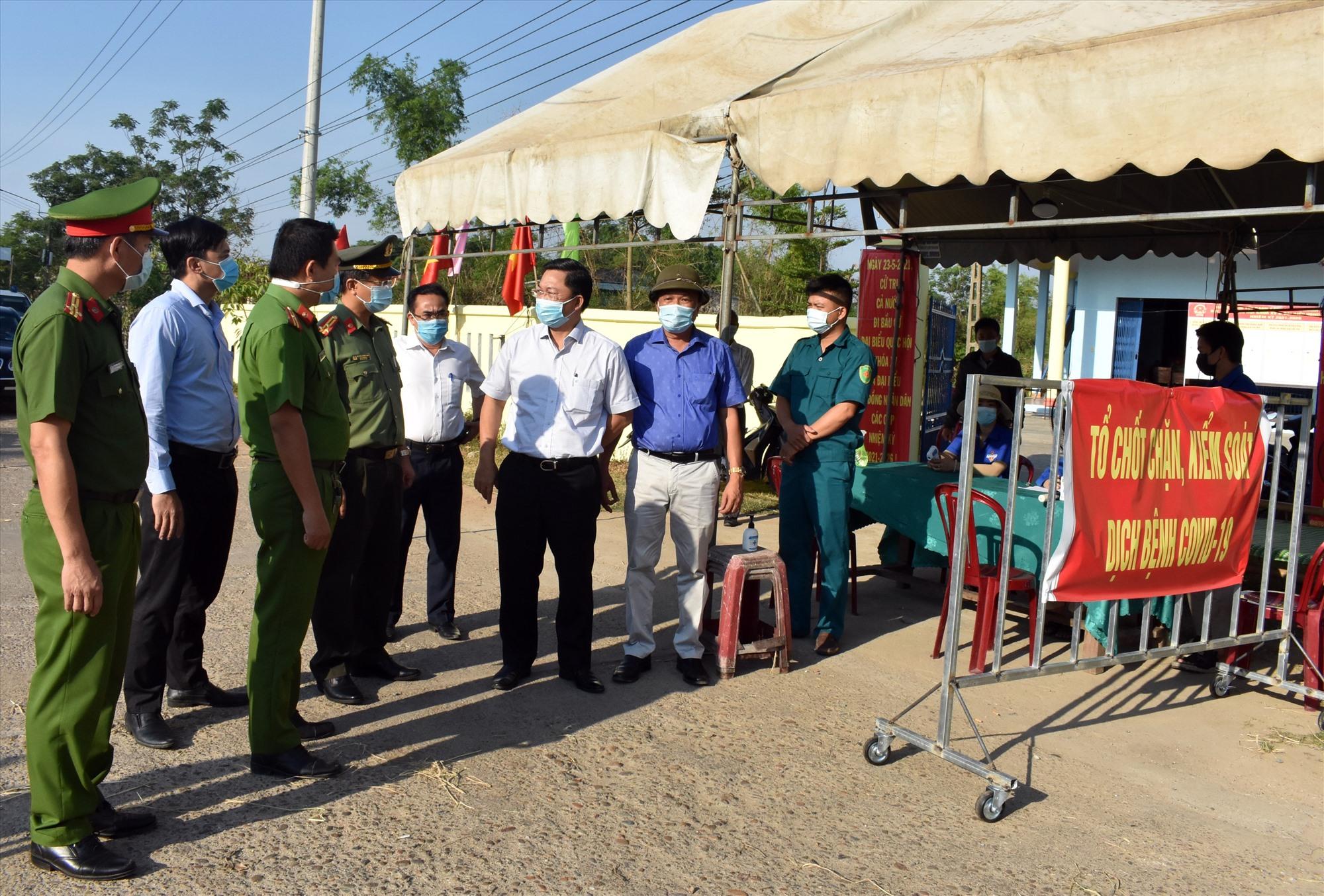 Các chốt kiểm soát vùng giáp ranh TP.Đà Nẵng sẽ giúp quản lý hiệu quả số người, phương tiện ra vào Điện Bàn và tỉnh Quảng Nam