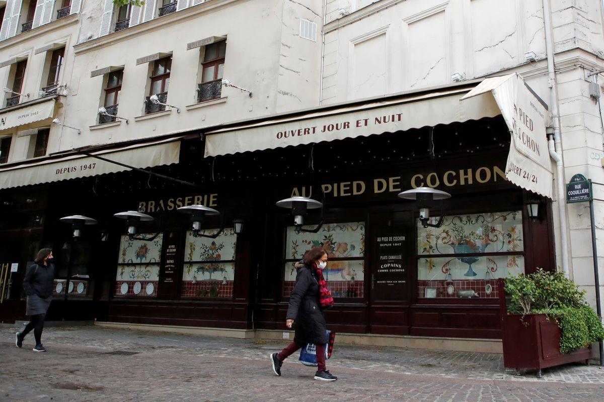 Các cửa hàng không thiết yếu tại Pháp sẽ được mở của trở lại vào tuần tới khi Pháp nới lỏng giãn cách xã hội. Ảnh: Reuters