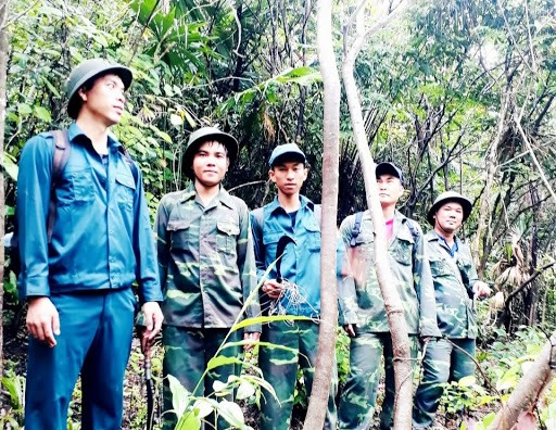 Forest protection force around My Son Sanctuary