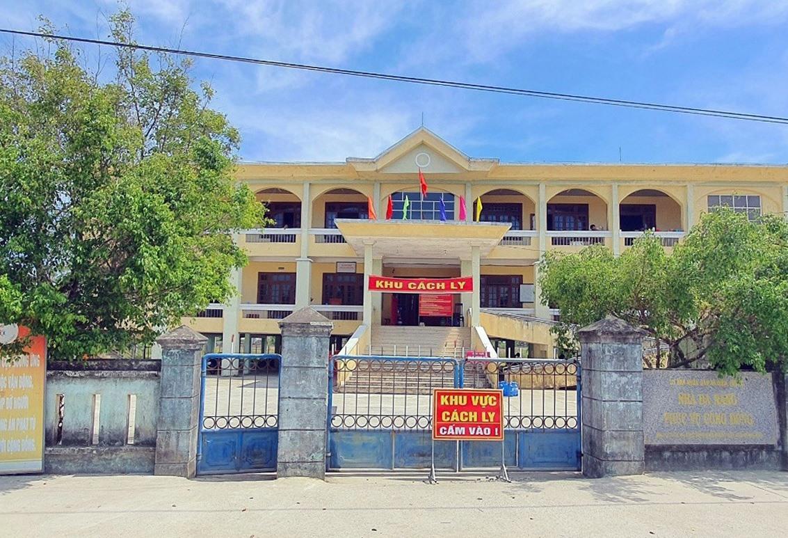Khu cách ly tâp trung Nhà đa năng phục vụ cộng đồng Điện Phước