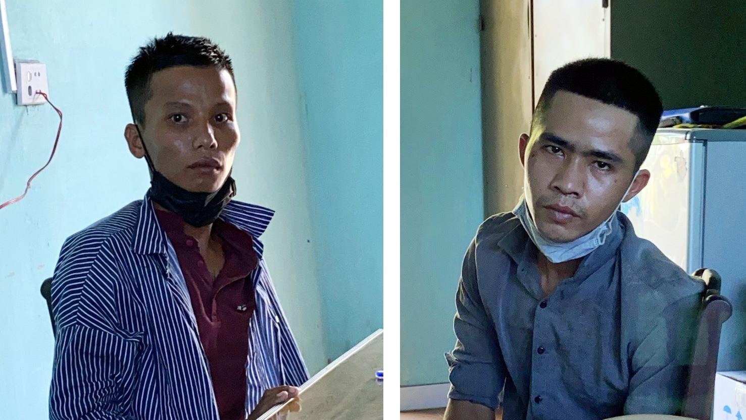 Đối tượng Nguyễn Hữu Lâm và Nguyễn Văn Trung.