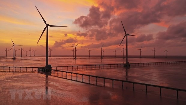 Bac Lieu Wind Power Plant (Photo: VNA)