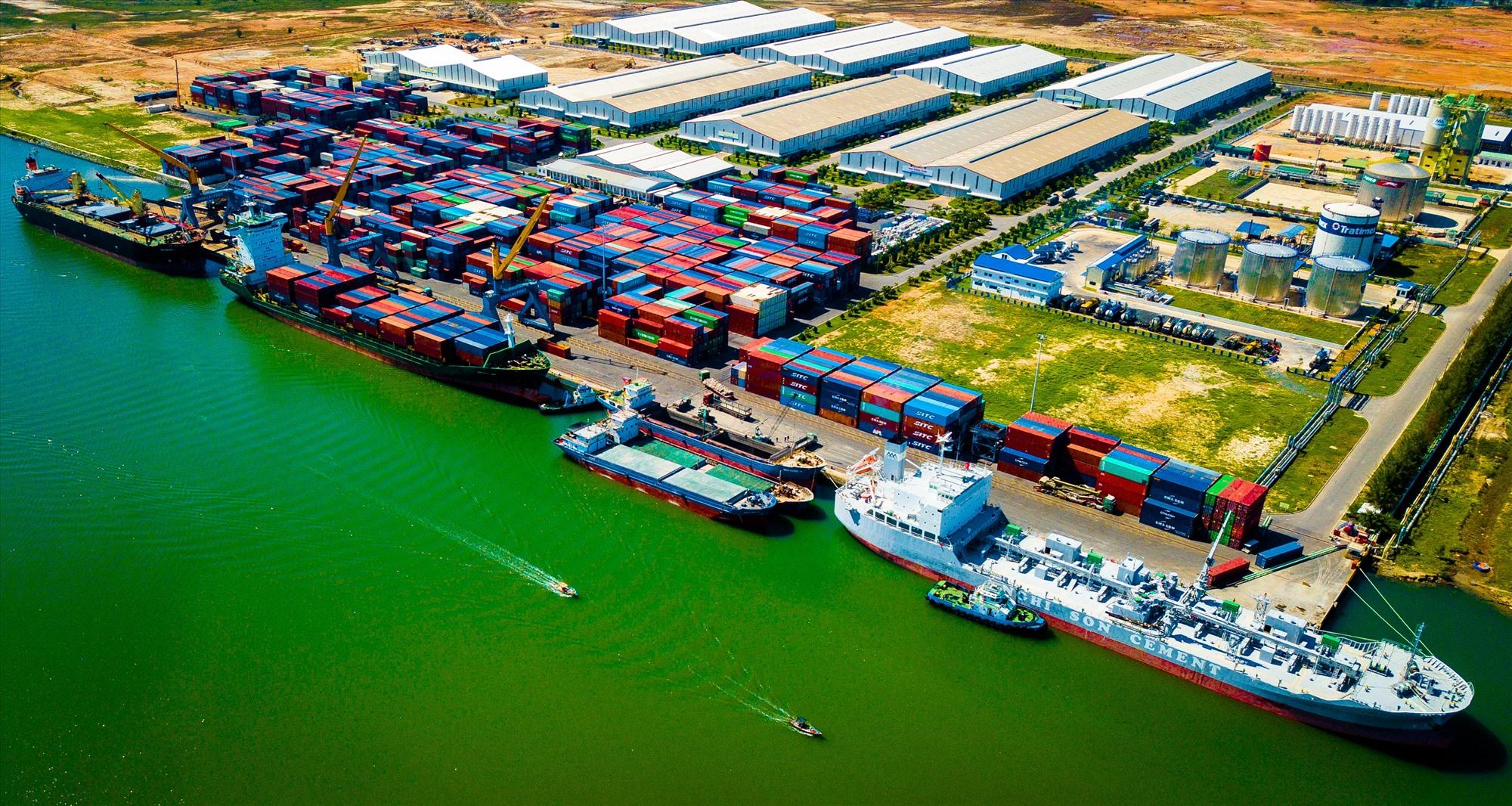 Diện mạo mới ở Cảng Kỳ Hà - Khu Kinh tế mở Chu Lai
