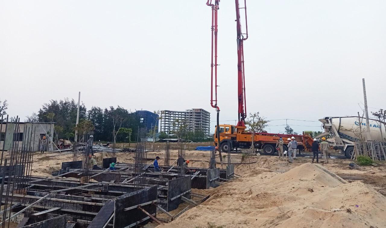 Quảng Nam tập trung phát triển và hoàn thiện cơ sở hạ tầng khu vực Điện Dương – Điện Bàn để tạo điều kiện cho các dự án động lực. Ảnh: H.Đ