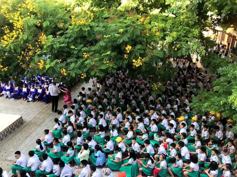 Học sinh, sinh viên Quảng Nam được nghỉ học từ ngày 4.5. Ảnh: C.N