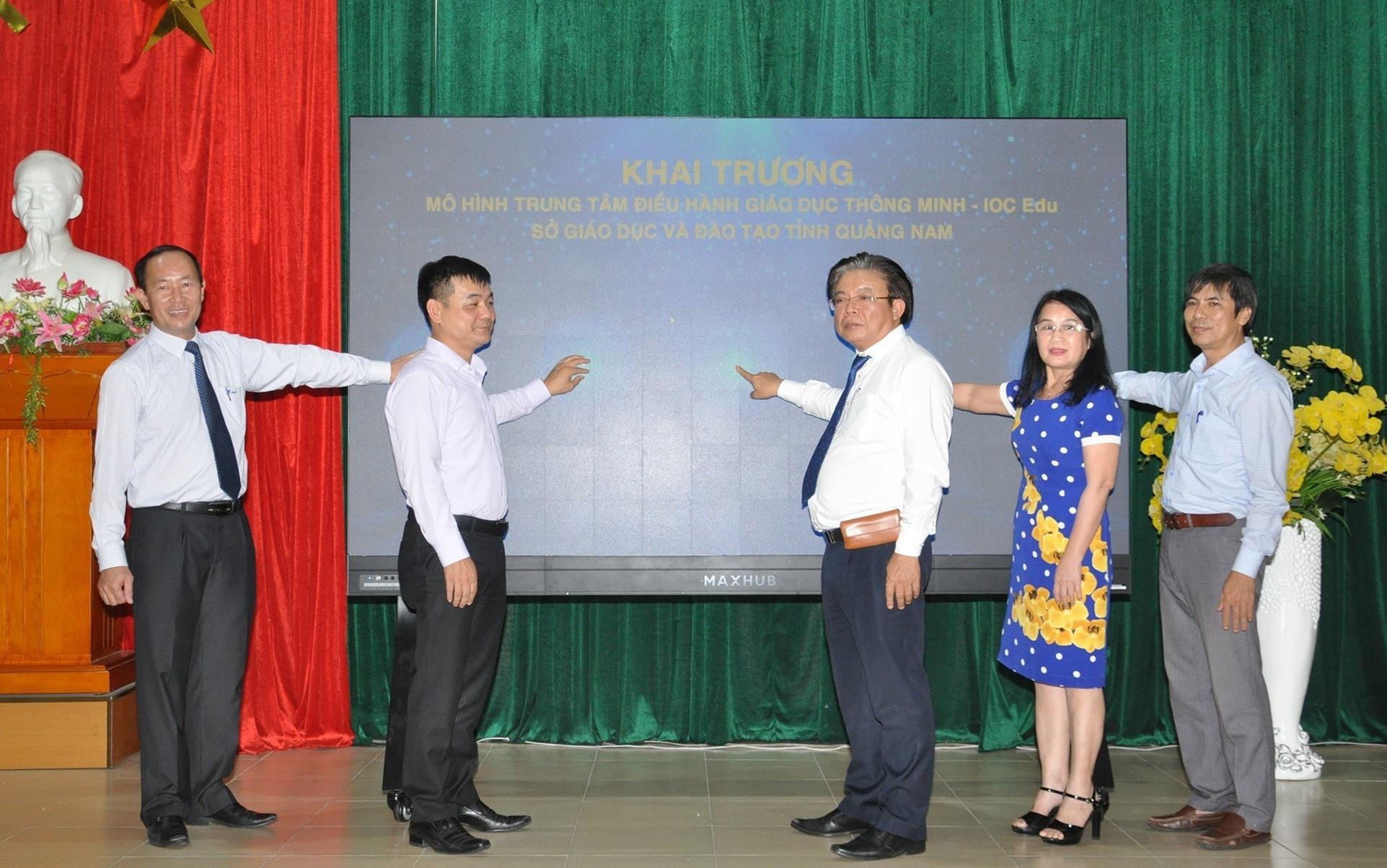 Khai trương Trung tâm Điều hành giáo dục thông minh từ ngày 26.4. Ảnh: A.S