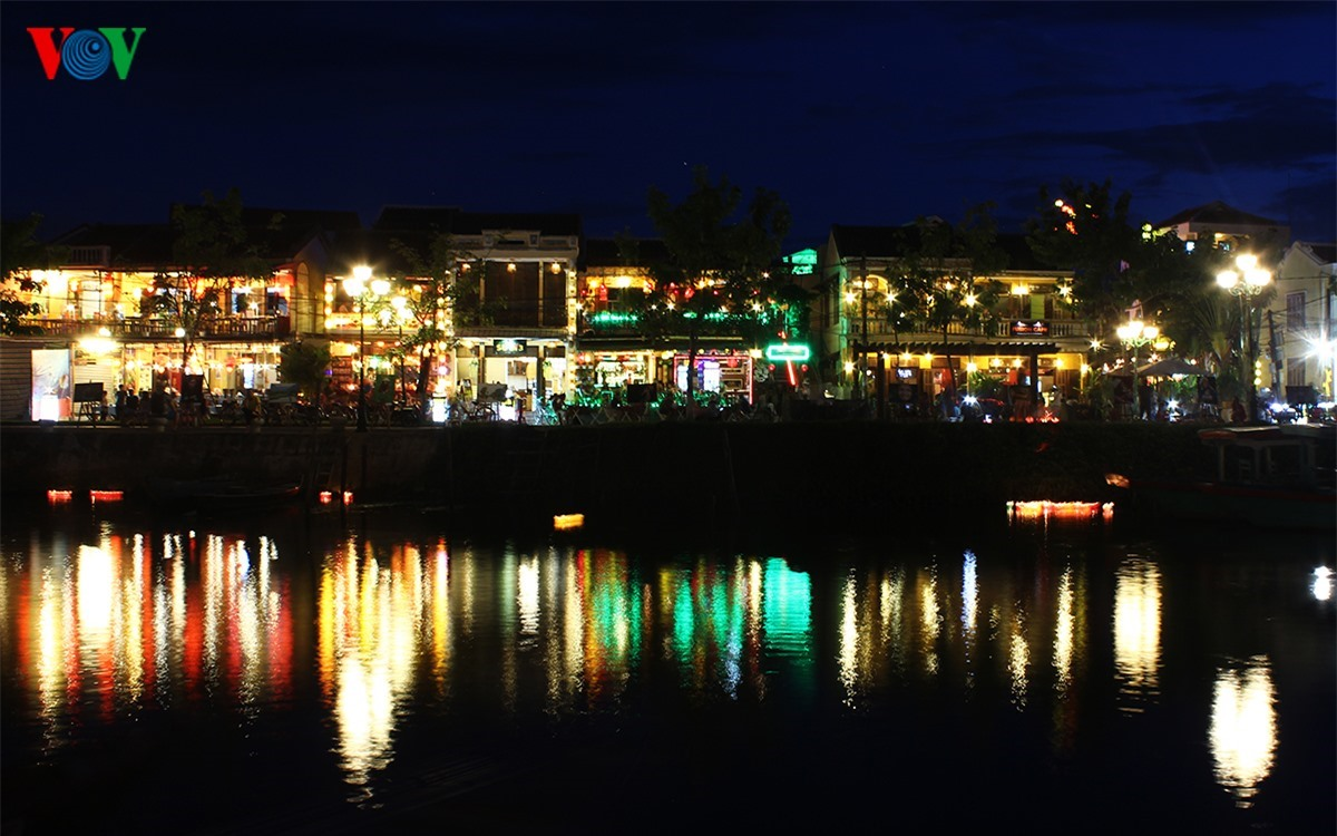 The Hoi An ancient quarter is on the banks of the Hoai poetic river.