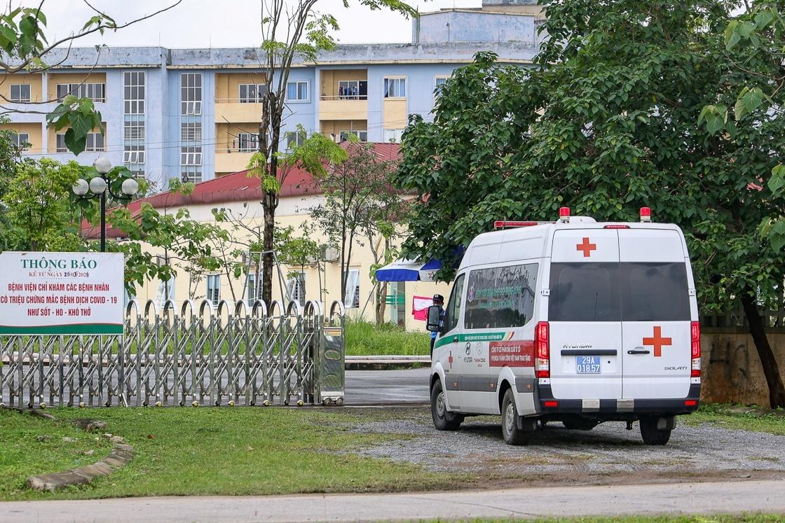 Bệnh viện Bệnh nhiệt đới Trung ương cơ sở Đông Anh được phong toa