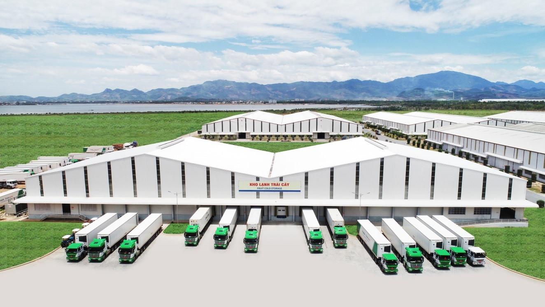 Kho lạnh tại Cảng Chu Lai có công suất 2.400 tấn.