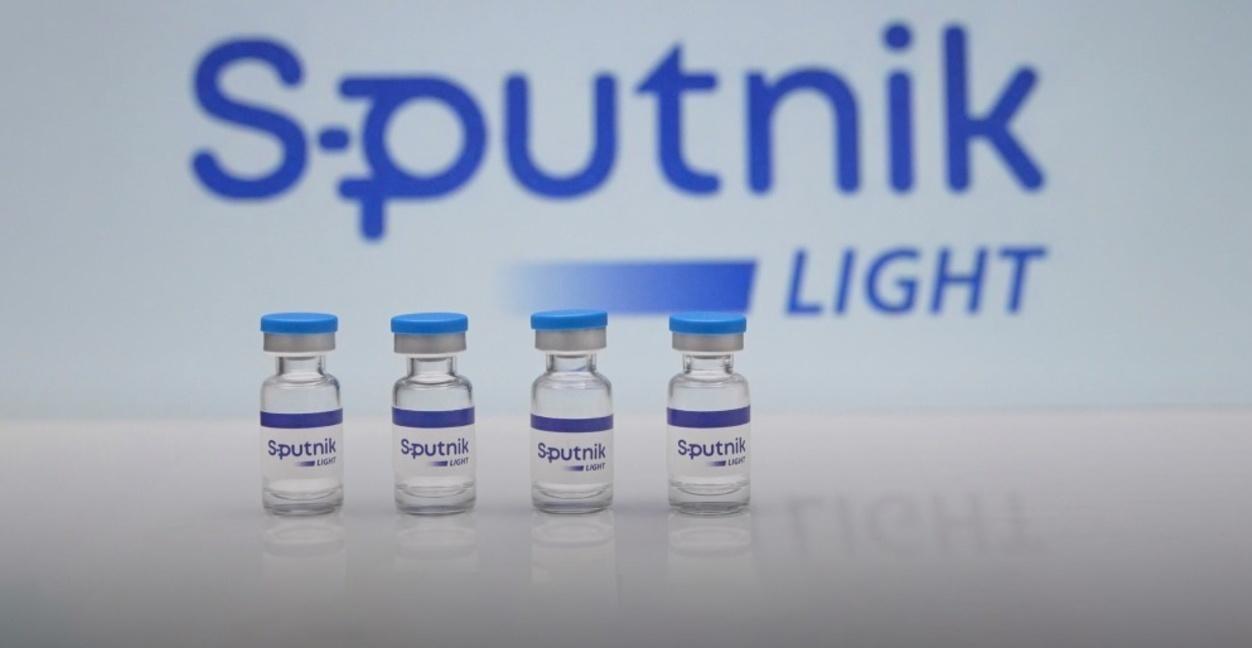 Vắc xin ngừa Covid-19 Sputnik Light của Nga. Ảnh: Indiantimes