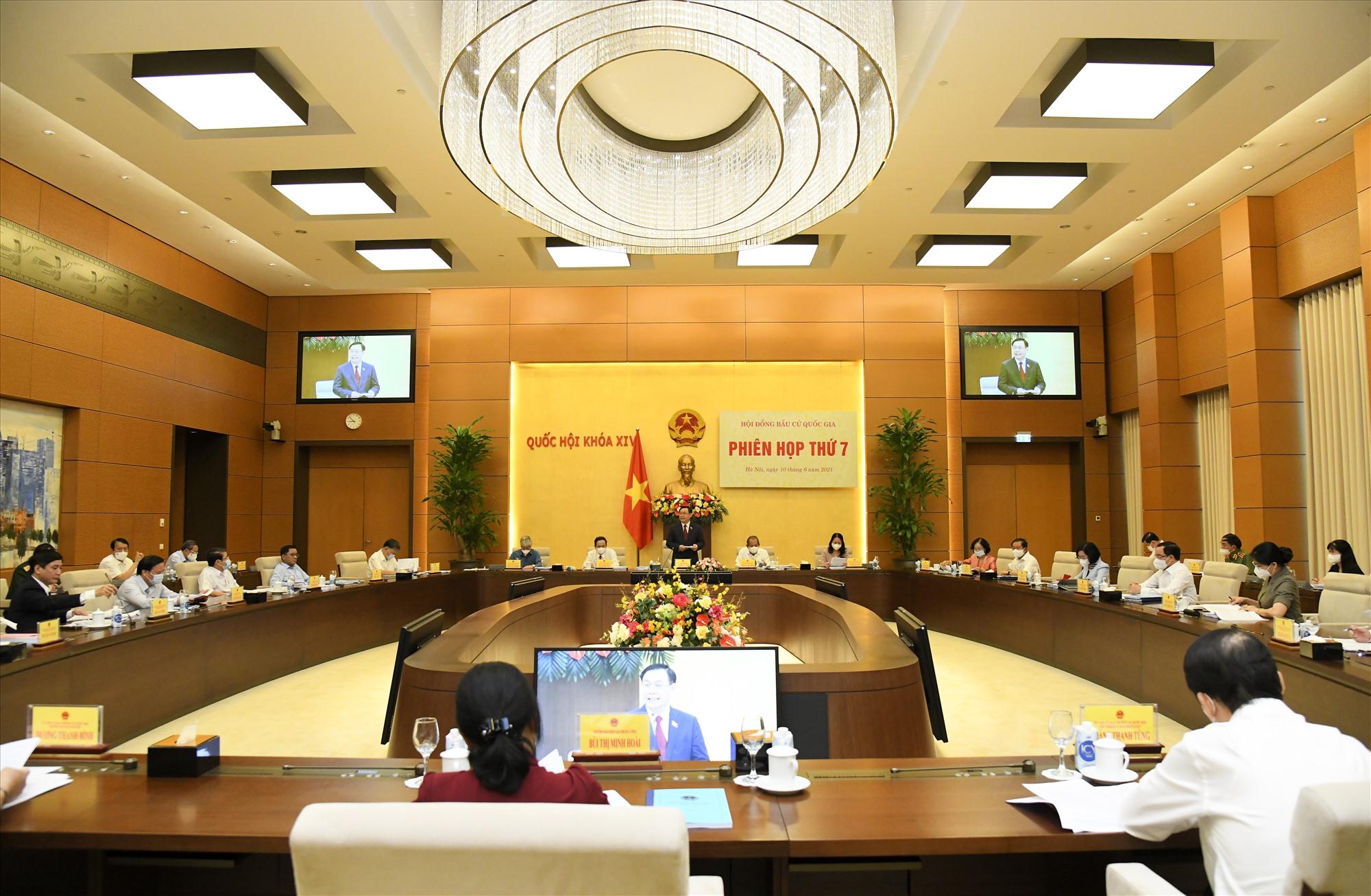 Phiên họp thứ thứ 7 của Hội đồng bầu cử quốc gia