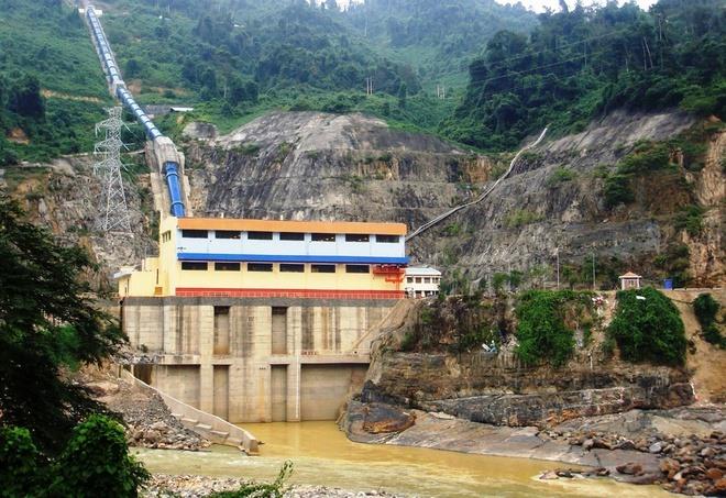 Nhà máy thủy điện A Vương xã 331 triệu m3 nước phục vụ sản xuất nông nghiệp và sinh hoạt của người dân.