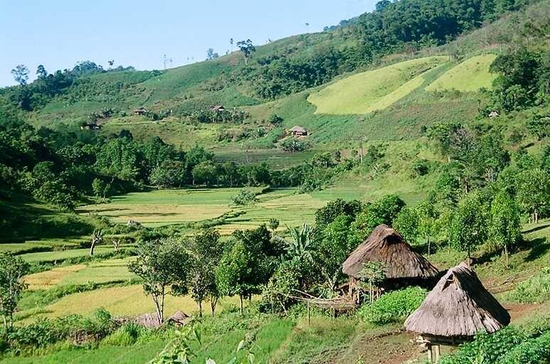 T'rieng ethnic village