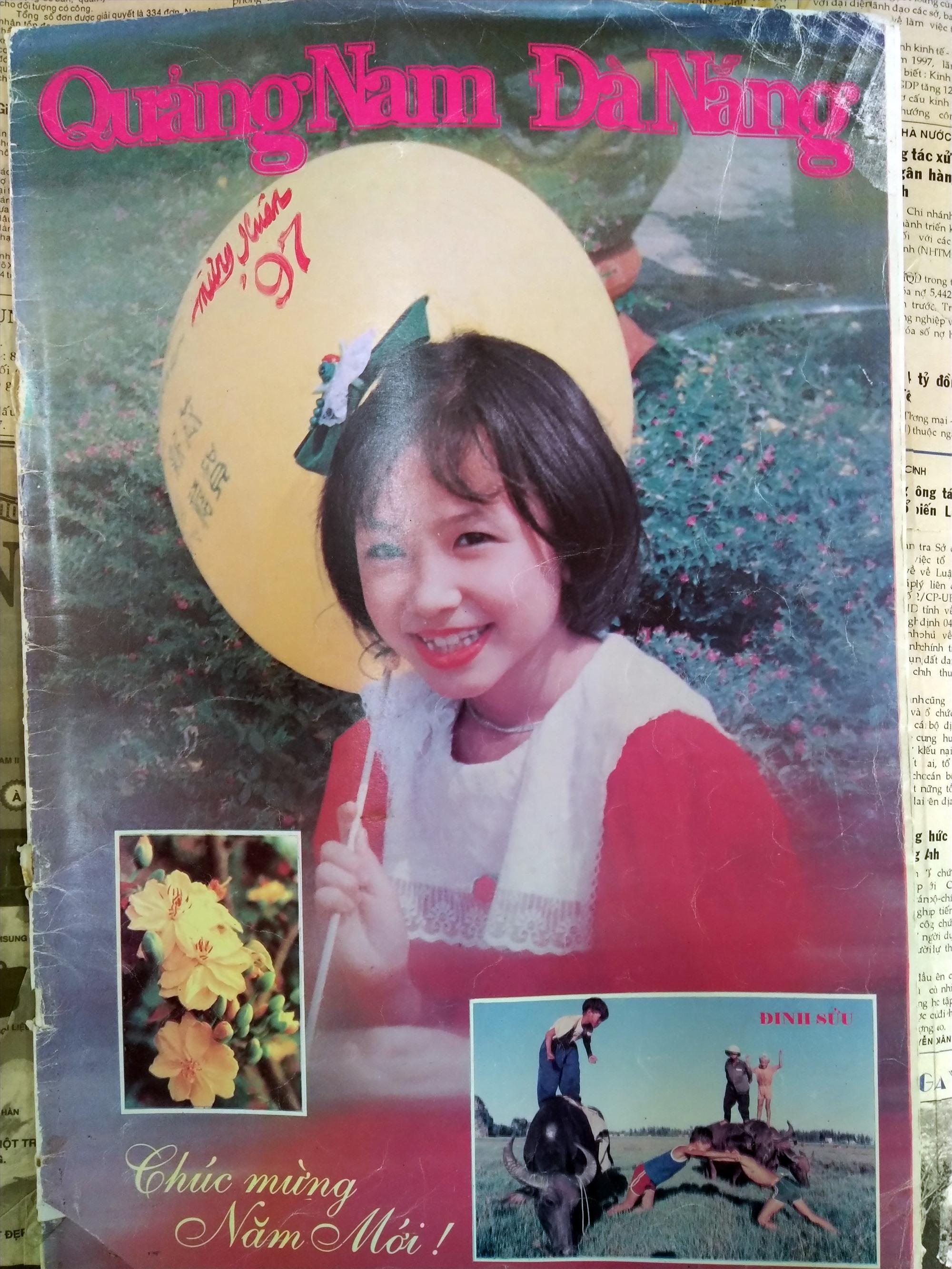 Bìa đặc san Xuân 1997 báo Quảng Nam Đà Nẵng trước khi chia tách. Ảnh: L.V
