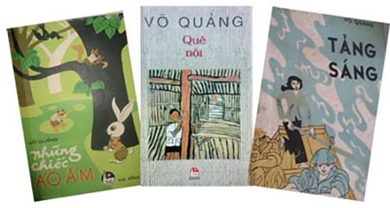 Một số tác phẩm của Võ Quảng.