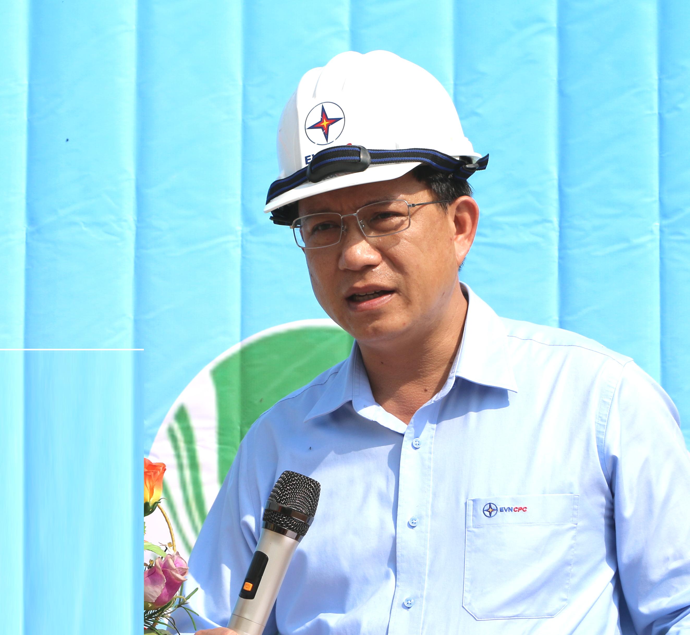Ông Nguyễn Hữu Khánh - Giám đốc PC Quảng Nam.
