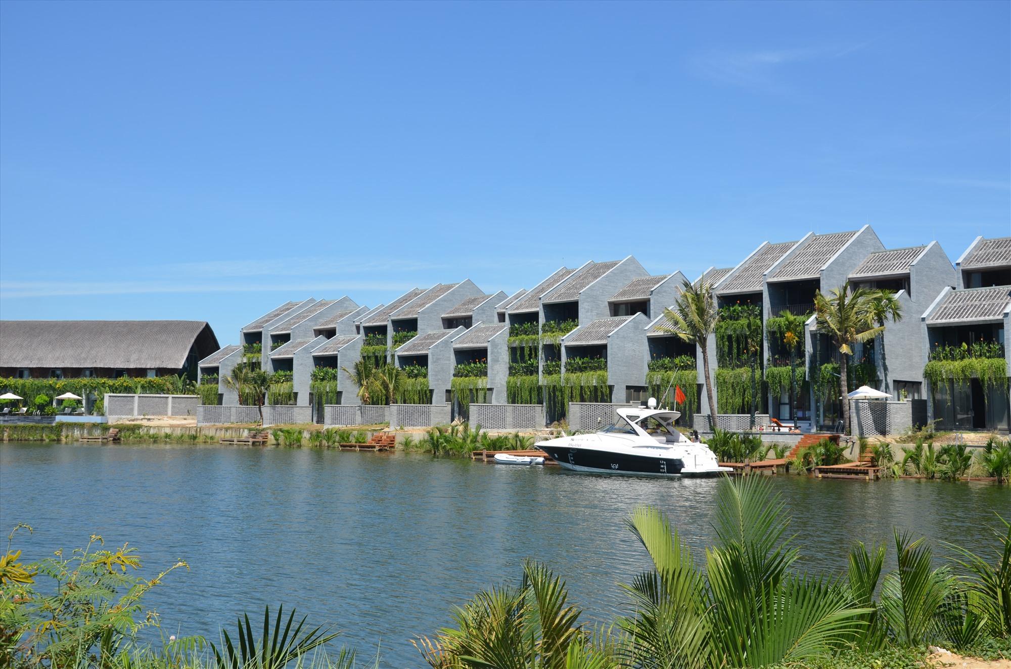 Quảng Nam sẽ phát triển mạnh các dự án nhà ở thương mại. Trong ảnh: Khu đô thị Casimia (xã Cẩm Thanh, Hội An). Ảnh: H.Phúc