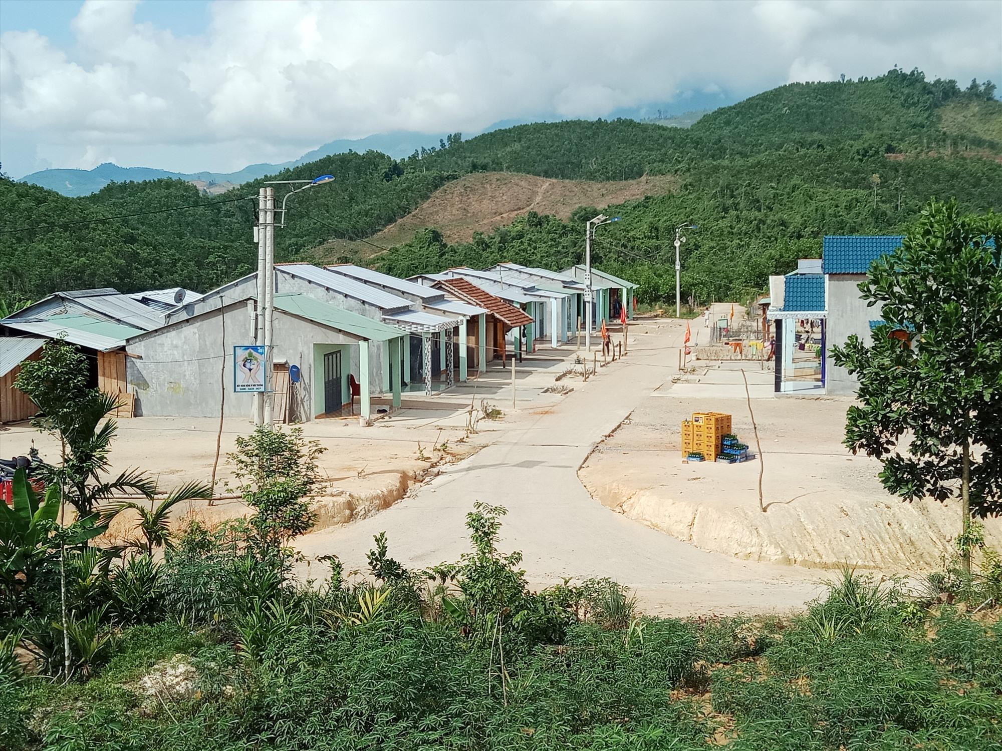 Khu tái đinh cư Cây Sến thôn Hạ Sơn xã Phước Gia.