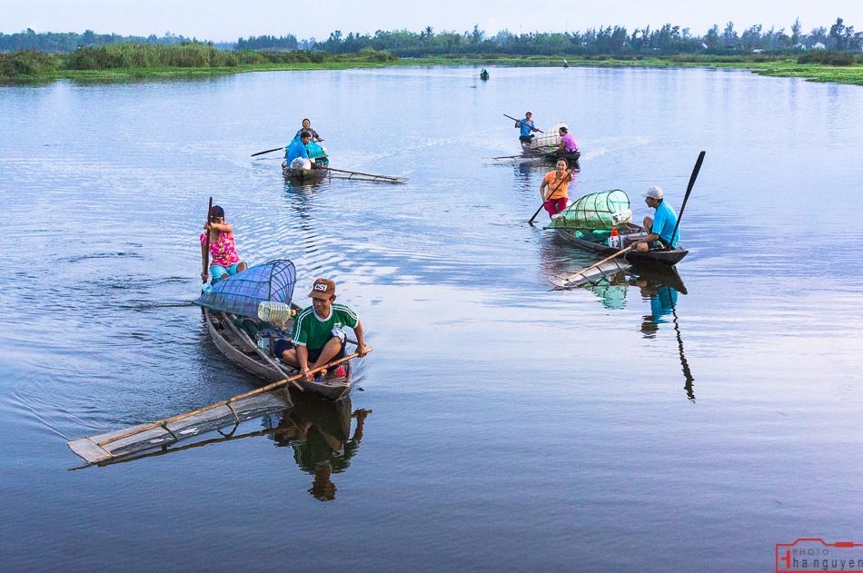 Những dòng sông quê thường trực xuất hiện trong thơ Tế Hanh. (ảnh minh họa). ảnh: HÀ NGUYỄN