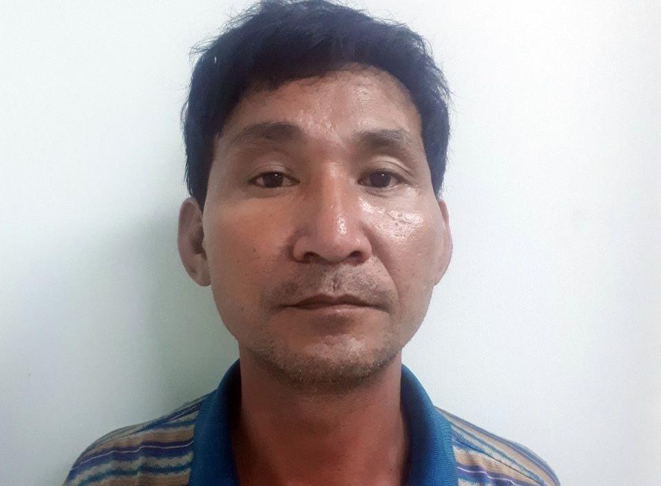 Đối tượng Phan Minh đang bị tạm giữ để tiếp tục điều tra. Ảnh: Công an cung cấp.