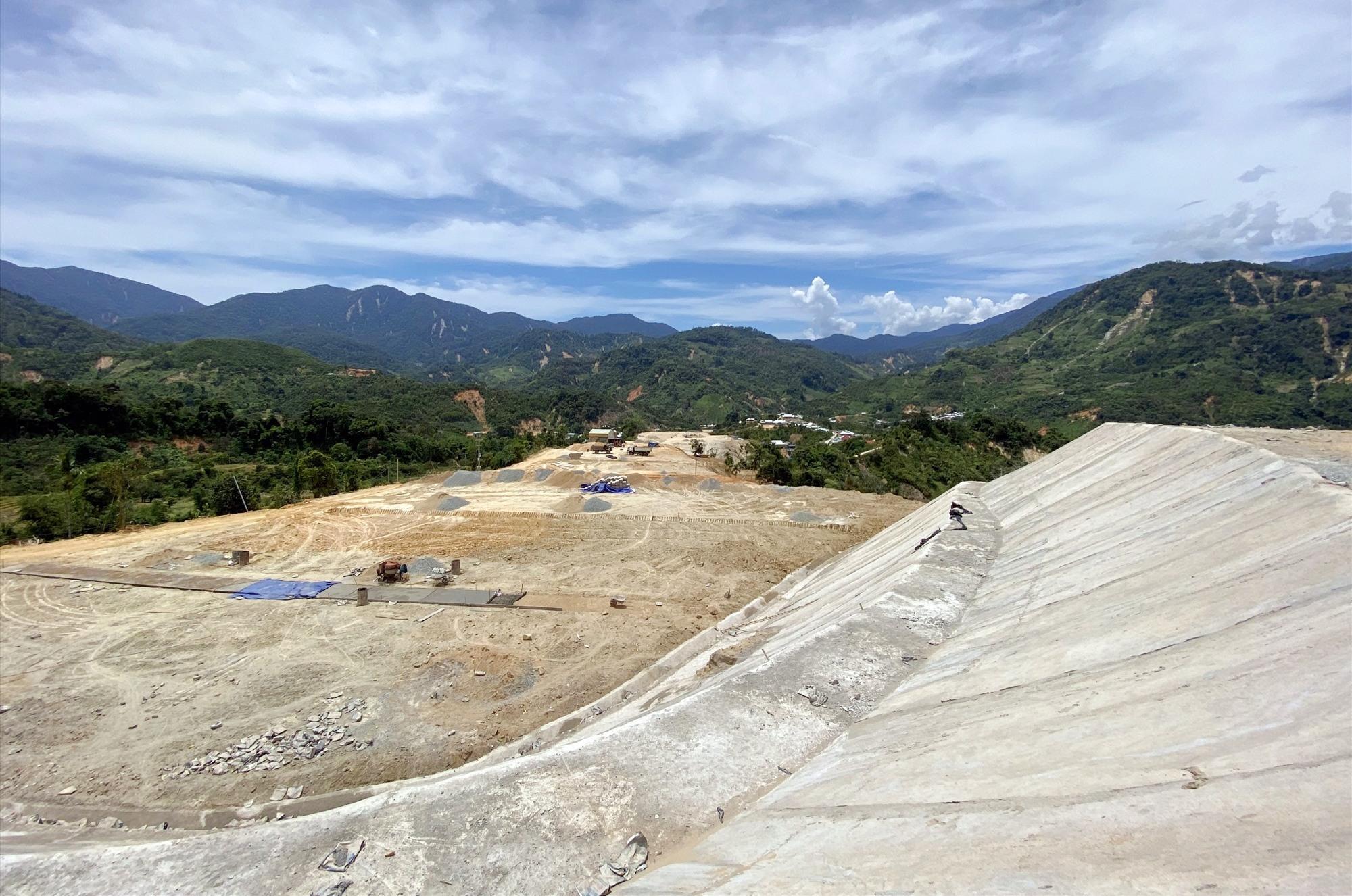 Khu TĐC thôn 1, xã Phước Thành vừa được hoàn thành.
