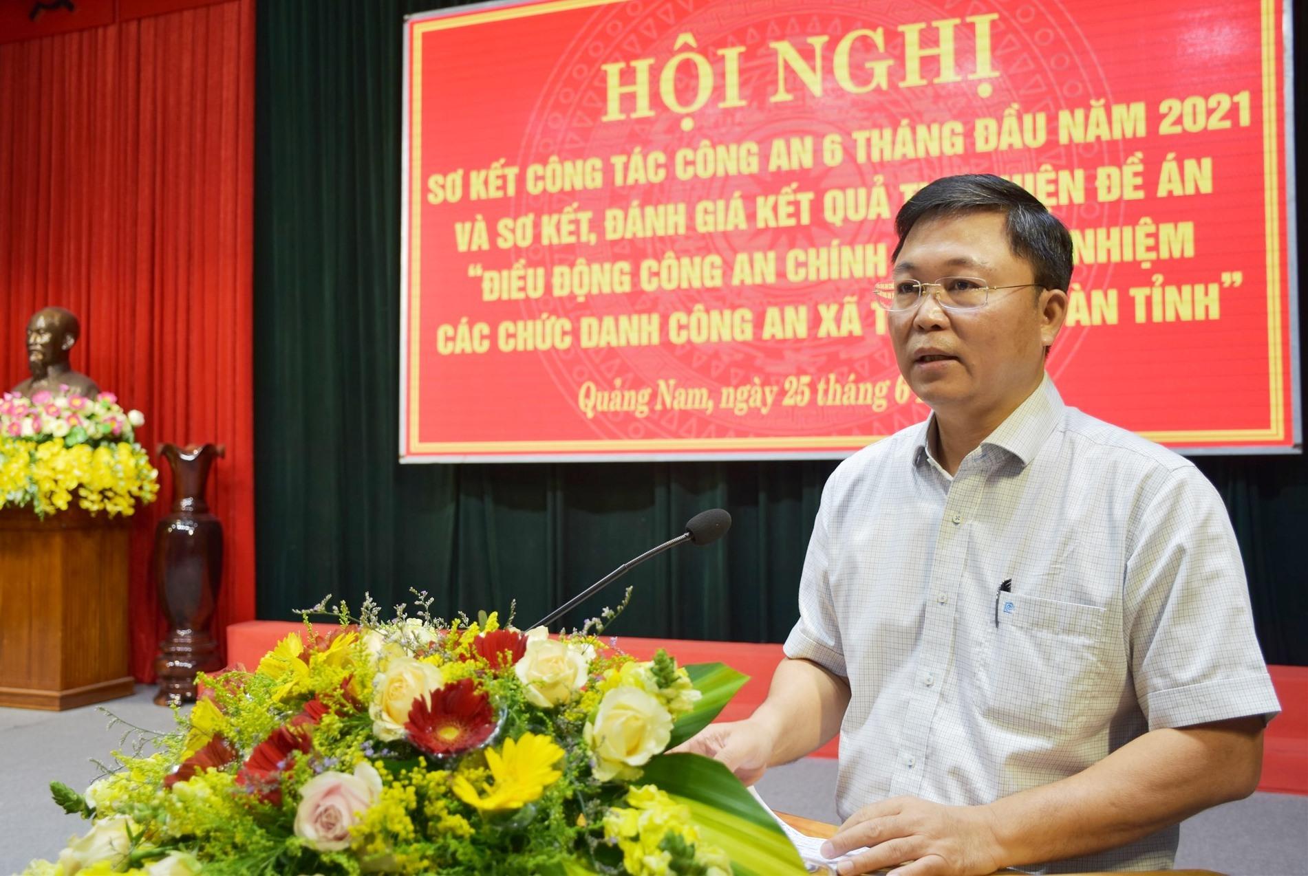 Đồng chí Lê Trí Thanh, Chủ tịch UBND tỉnh phát biểu chỉ đạo tại Hội nghị.