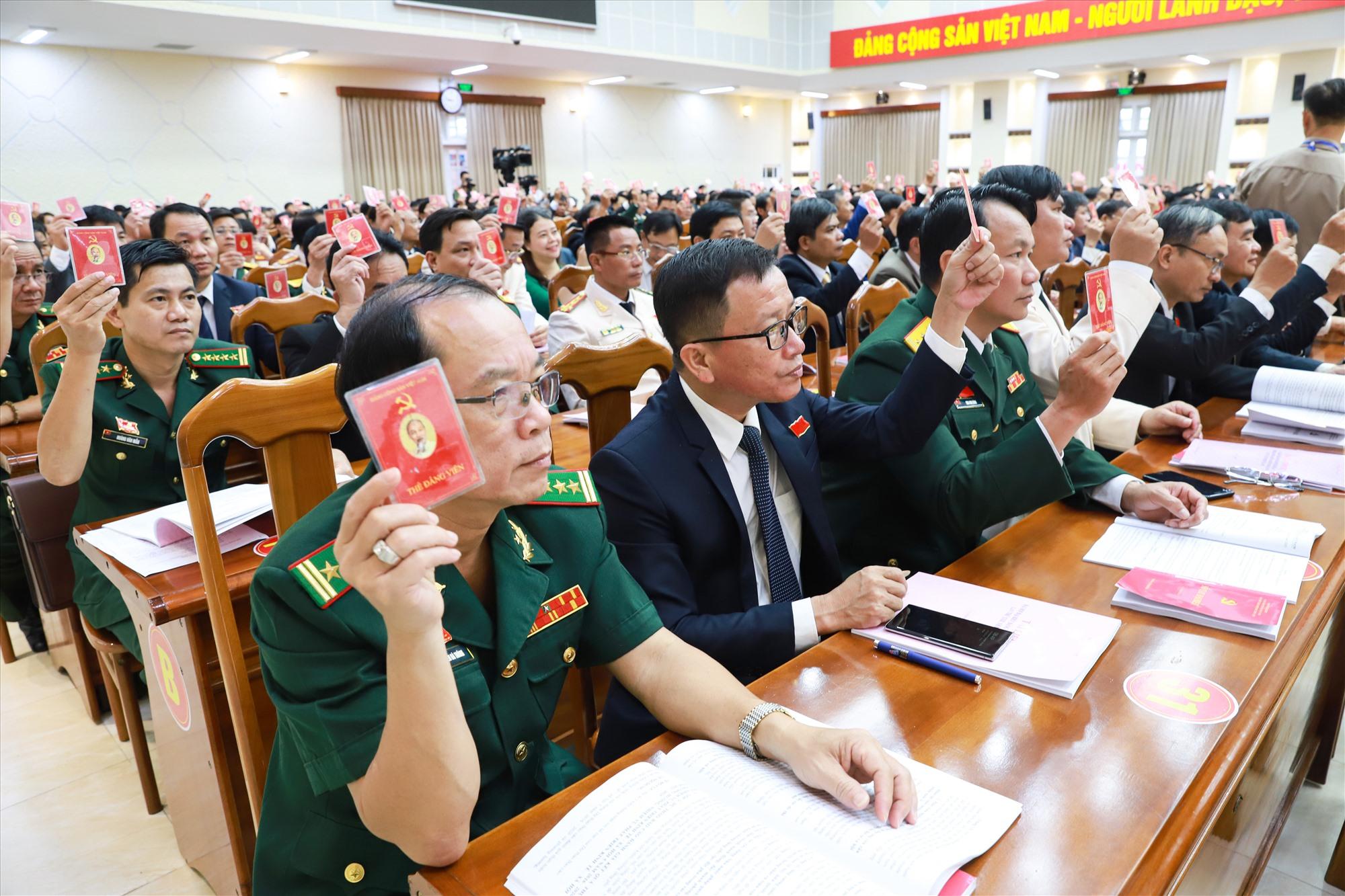 Đại hội đại biểu Đảng bộ tỉnh lần thứ XXII (nhiệm kỳ 2020 - 2025) xác định tiếp tục kiện toàn, sắp xếp tổ chức bộ máy chính quyền các cấp theo hướng tinh gọn, hoạt động hiệu lực, hiệu quả. Ảnh: N.Đ