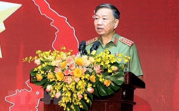 Vietnamese Minister of Public Security Gen. To Lam (Photo: VNA)