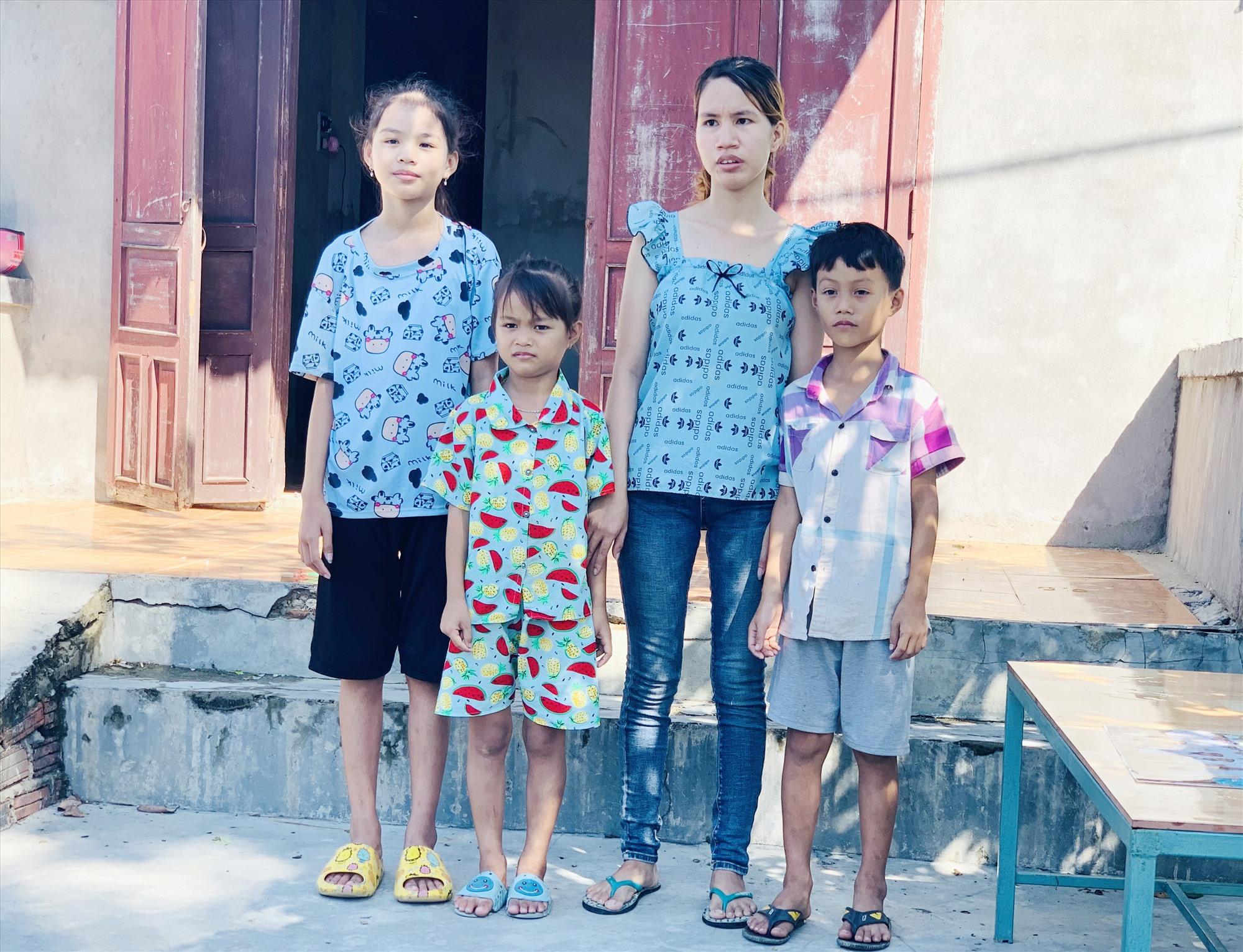 Gia cảnh chị Lê Thị Liên hết sức khó khăn, cần sự sẻ chia của cộng đồng. Ảnh: T.S