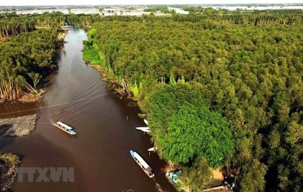 Vietnam is preserving Mekong Delta's ecosystem. (Photo: VNA)