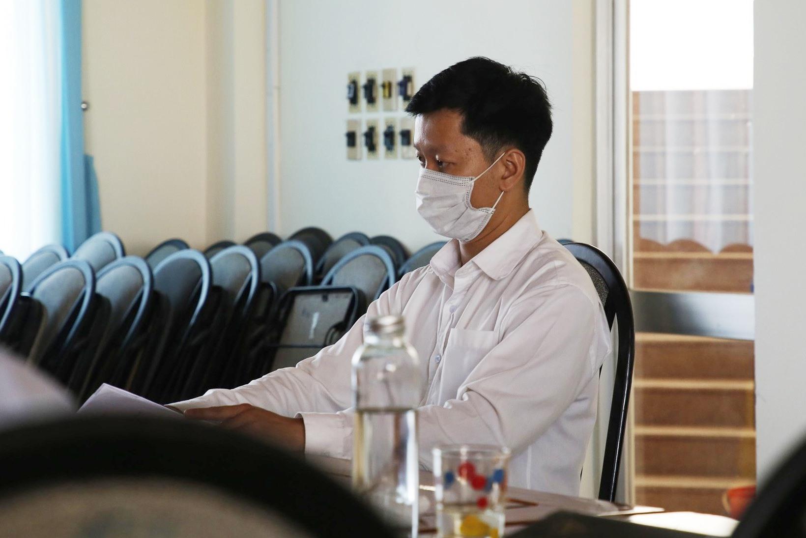 Ông Nguyễn Kim Bách đã làm đơn khiếu nại đến Chủ tịch UBND tỉnh về kết quả giải quyết của Chủ tịch hội đồng thi tuyển công chức. Ảnh: P.V