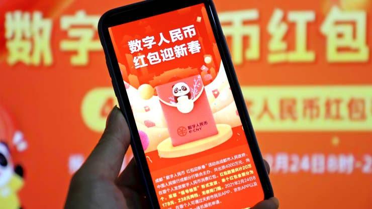 Trung Quốc sẽ trao 40 triệu nhân dân tệ điện tử cho người dân Bắc Kinh theo hình thức xổ số. Ảnh: Getty Images