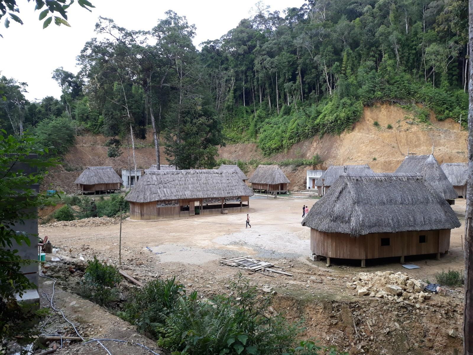 Quảng Nam có 70 xã thuộc vùng đồng bào dân tộc thiểu số và miền núi. Trong ảnh: Một góc Tây Giang. Ảnh: P.C.A