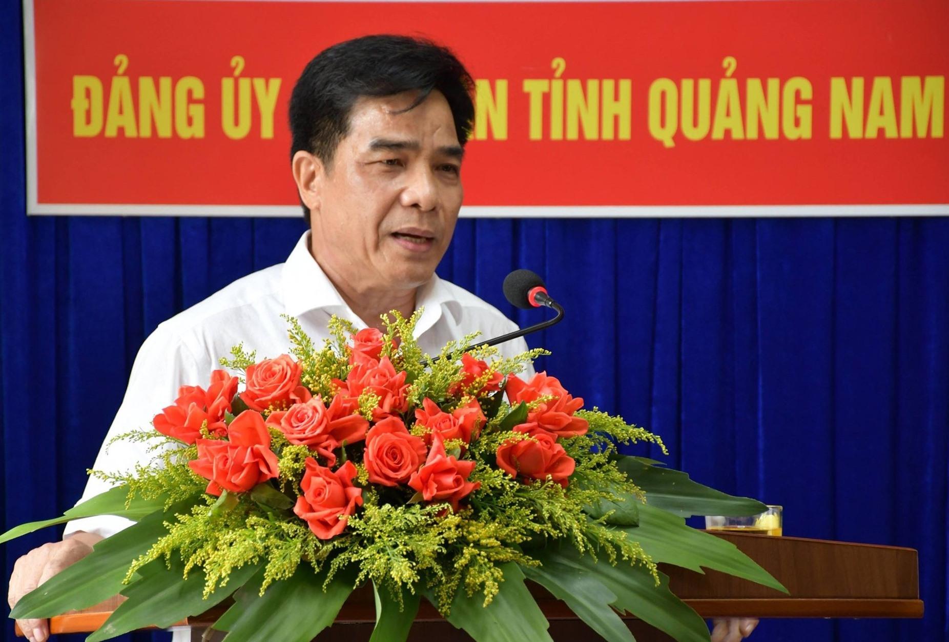 Phó Bí thư Thường trực Tỉnh ủy Lê Văn Dũng