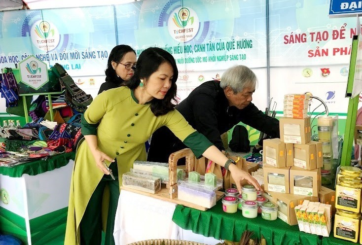 Some start-up products in Quang Nam province.