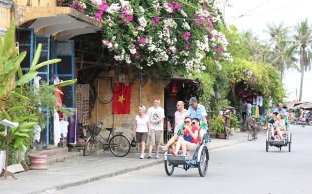 """Cyclo is also called a """"tourism ambassador"""" of Hoi An city."""