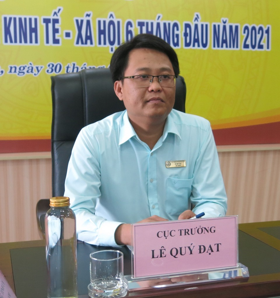 Mr. Le Quy Dat - Director of the Quang Nam provincial Statistical Office