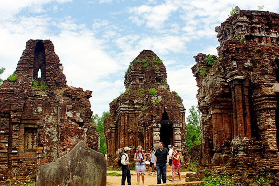 My Son Sanctuary- a tourist attraction in Quang Nam