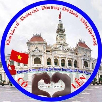 Nhiều người thay ảnh đại diện động viên TP.Hồ Chí Minh.