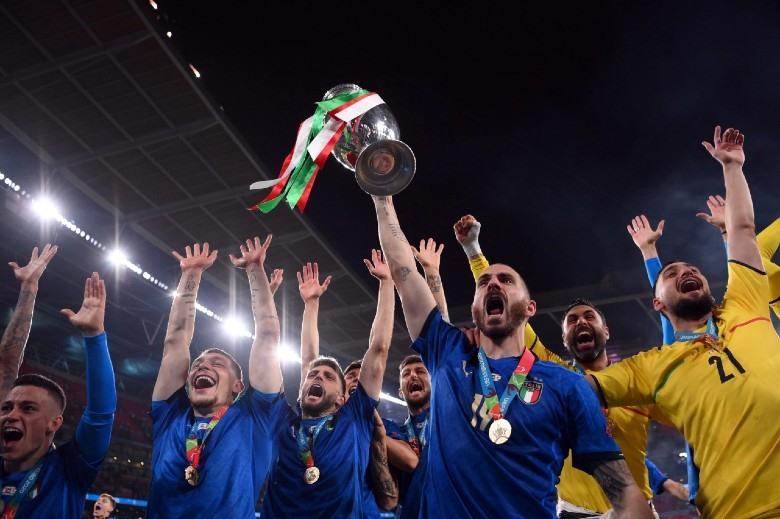 Đội tuyển Ý đoạt Cúp vàng Euro 2020