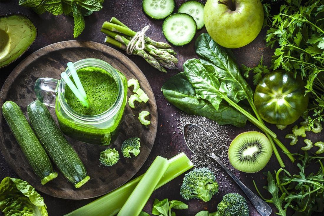 Chất diệp lục trong rau rất tốt cho sức khỏe. Nguồn ảnh: Internet
